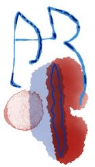 AR monogram K