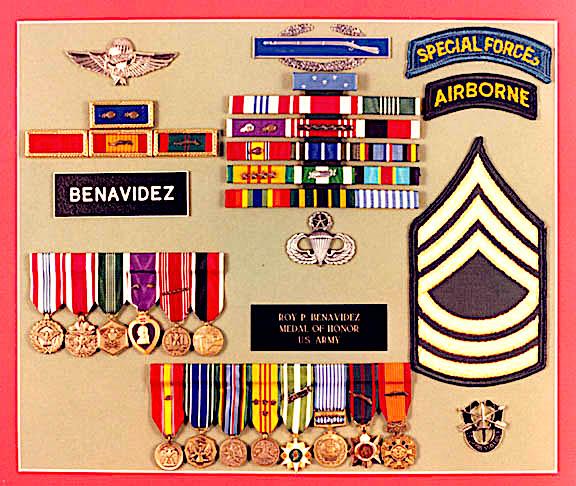 Benavidez medals