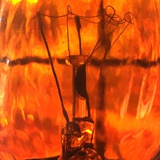 Orange Bulb Filament